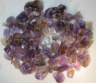 Bolivian Ametrine Facet & Cabbing Rough Parcel, 840 grams