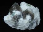 Beryl, var. Aquamarine w/ Clevelandite, Lepidolite & Quartz, (New Find), California Blue Mine, San Bernardino County, CA. (CAB)