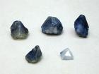 Benitoite Crystals, 26.51 ctw