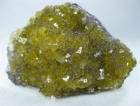Golden Honey Yellow Fluorite w/ Chalcopyrite, (SCab) Solis, Asturias, Spain