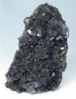 Fluorite and Sphalerite Specimen, Elmwood Mine, Tennessee, USA (Cab)