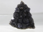 Fluorite on Sphalerite, Annabel Lee Mine, Hardin County Illinois, (SCab)