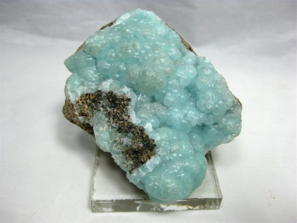 Hemimorphite, Esmeralda Mine, Magistral, Mun. del Oro, Durango, Mexico