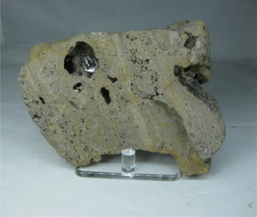 Herkimer Quartz in Matrix, (Cab)