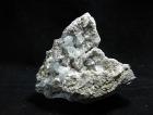 Quartz w/ Calcite on Matrix, DT, Petroleum Inclusions, (Cab)