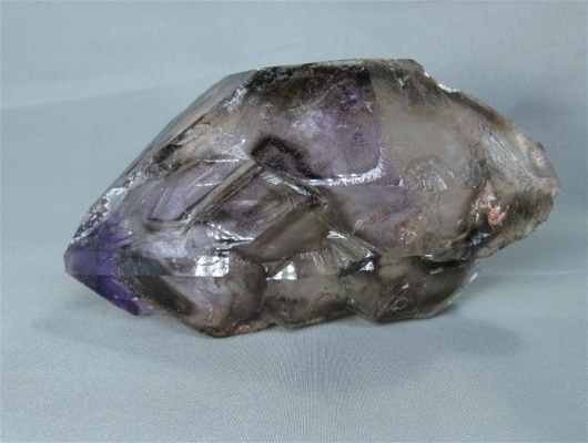 Quartz var. Smoky Amethyst, Brazil, (CAB), ex Gene Reynolds Collection