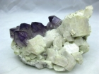 Quartz var. Amethyst with Fledspar, Goboboseb, Brandberg, Namibia, (CAB), Ex Dan Kennedy collection