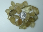 Oregon Sunstone, Hand Selected Facet Rough Parcel, Clears and Yellows, 40.90 grams / 204.50 carats