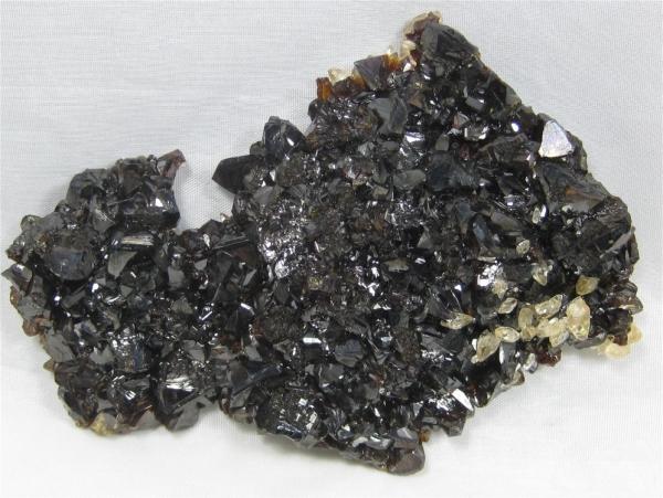 Gem Sphalerite & Calcite, Elmwood Mine, Tenn. (Cab)