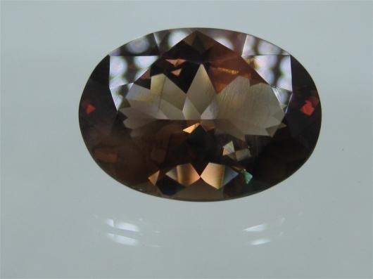 Oregon Sunstone, 12.57 cts., some schiller
