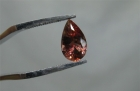 Oregon Sunstone, 1.13 cts., Red Pear Cut