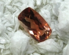 Oregon Sunstone, 2.40 cts., Reddish Orange, Modified Cushion Cut