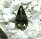 Oregon Sunstone, 4.34 cts., Green Pear Cut