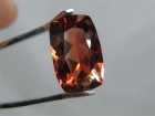 Oregon Sunstone, 7.2 cts., Reddish Orange, Modified Cushion Cut