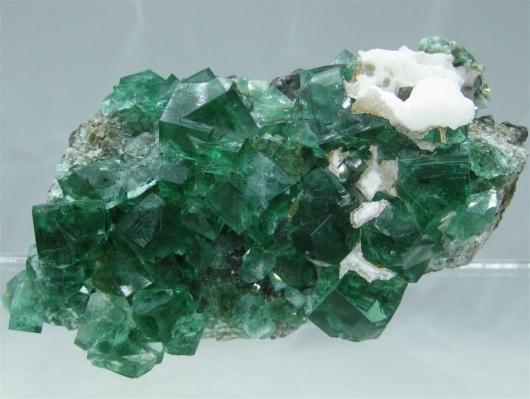 Green Cab Madison >> Fluorite, Aragonite, Galena Specimen, Rogerley Mine, England, (Cab) - Capistrano Mining Company ...