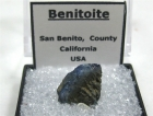Benitoite Specimen, (TN)