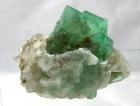 Fluorite w/ Quartz Druze, Riemvasmaak, South Africa
