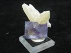 Fluorite & Calcite, Hardin County, Ill. (Min)
