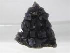 Fluorite on Sphalerite, Annabel Lee Mine, Hardin County Illinois, (SCab)