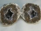 Split Geode from Mexico