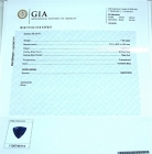 GIA Colored Gemstone Report, for all gemstones except for Sapphire, Ruby, Emerald
