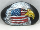 "Painted Rock, ""Patriot Eagle"""