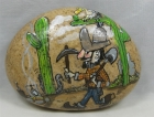 """Painted Rock, """"Unsuspecting Miner"""""""