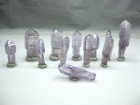 12) Amethyst Scepters from Vera Cruz, Mexico